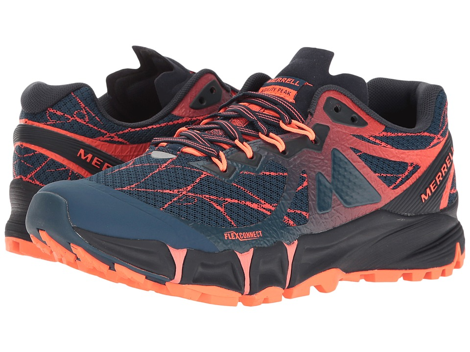 Merrell - Agility Peak Flex (Navy) Women's Shoes