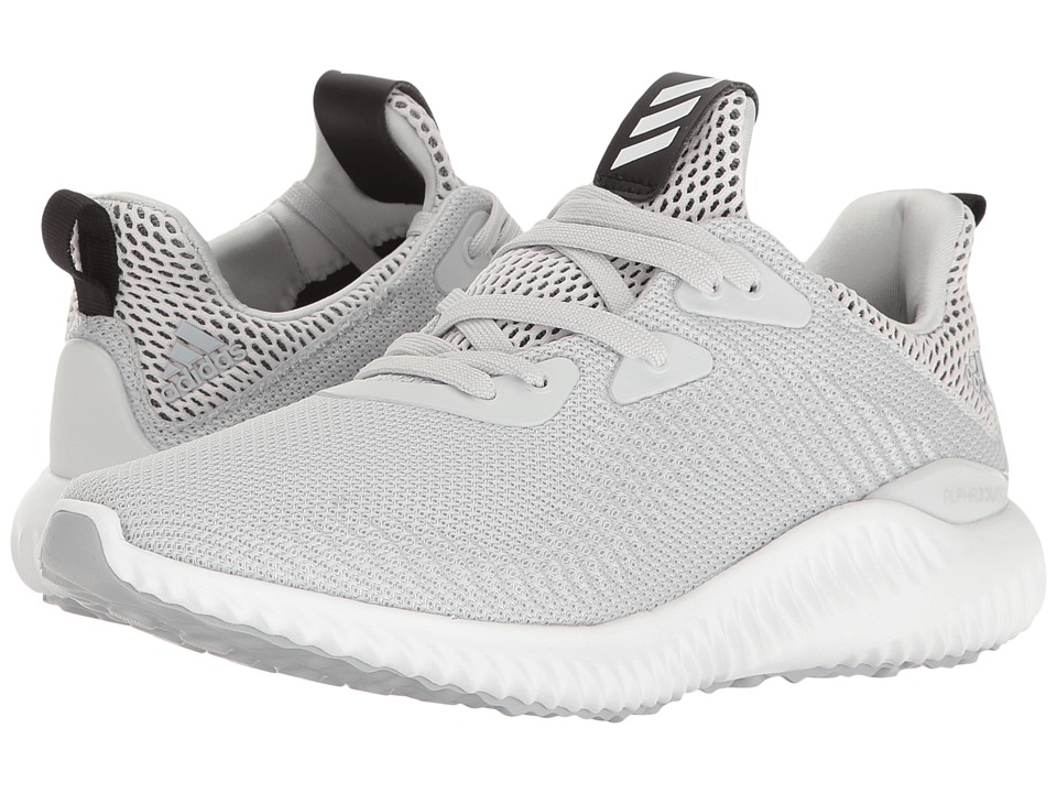 adidas Kids Alphabounce (Big Kid) (Clear Grey/Footwear White/Clear Onix