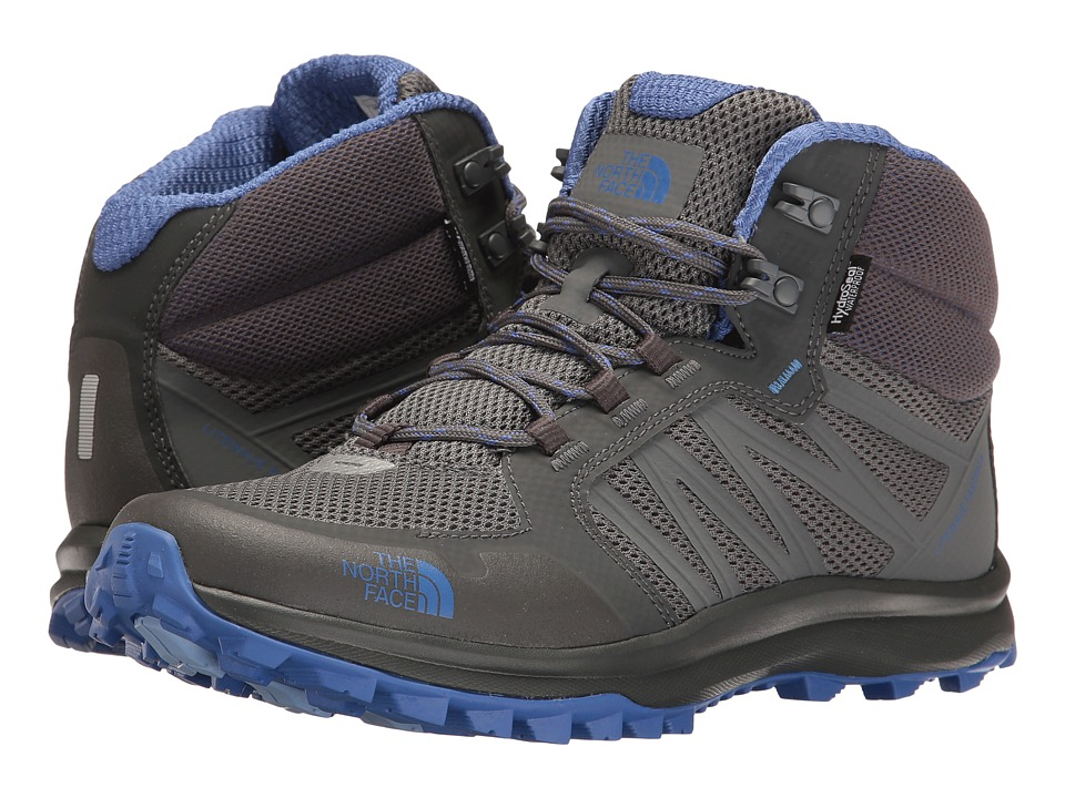 The North Face - Litewave Fastpack Mid WP (Zinc Grey/Amparo Blue (Prior Season)) Women's Hiking Boots