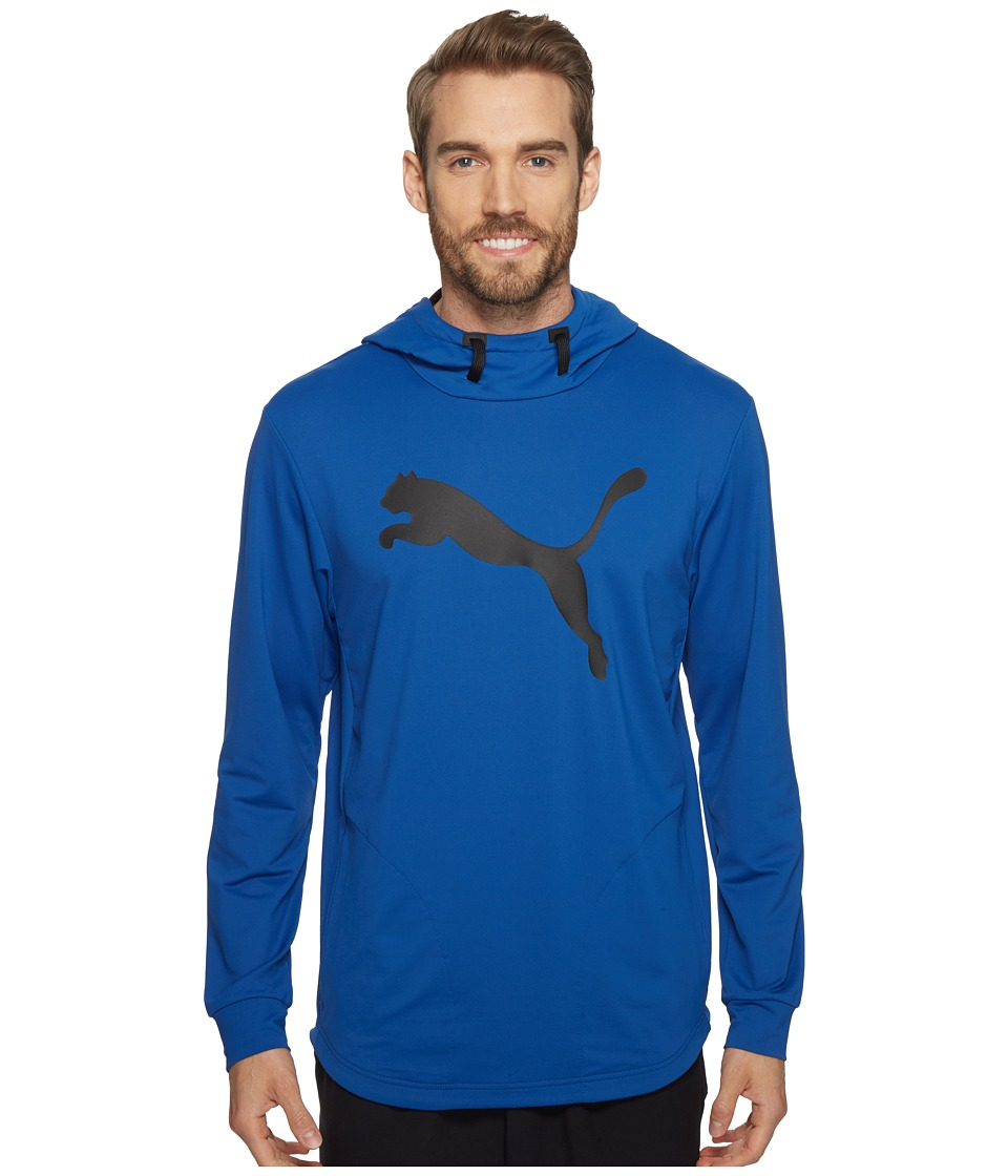 PUMA - Tech Fleece Hoodie (True Blue) Men's Sweatshirt