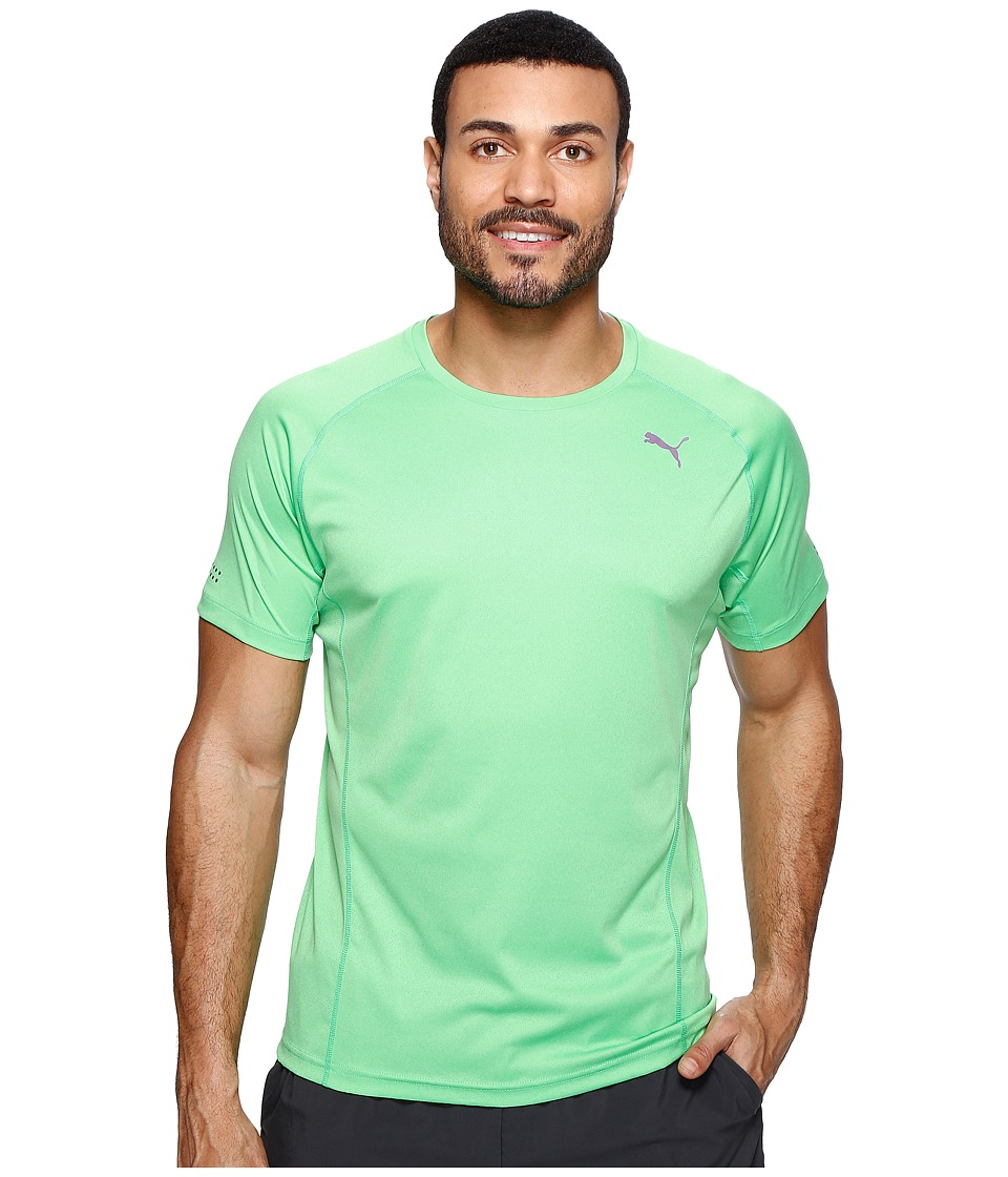 PUMA - Nightcat Short Sleeve Tee (Andean Toucan Heather) Men's T Shirt
