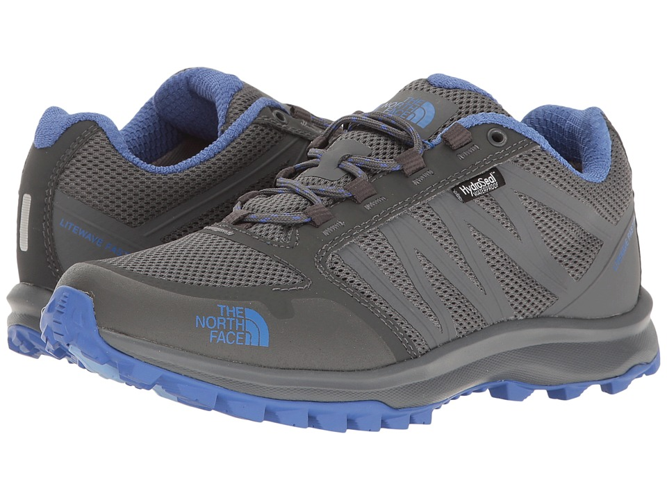 The North Face Litewave Fastpack WP (Zinc Grey/Amparo Blue) Women