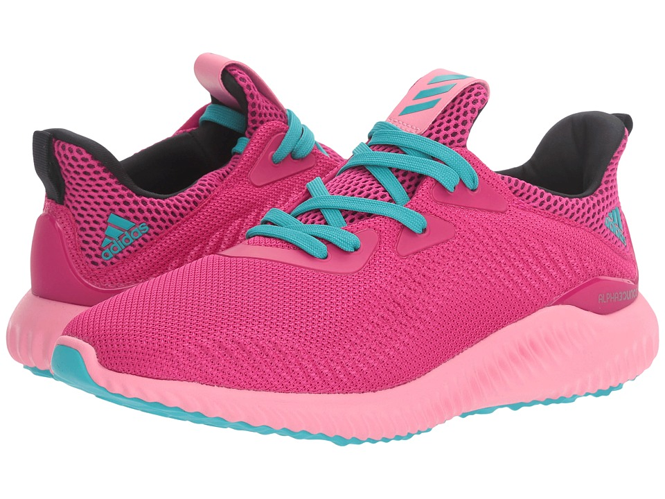 adidas Kids Alpha Bounce (Big Kid) (Easy Pink/Bold Pink/Energy Blue) Girls Shoes