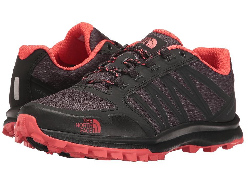 The North Face - Litewave Fastpack (Phantom Grey Heather Print/Cayenne Red) Women's Shoes