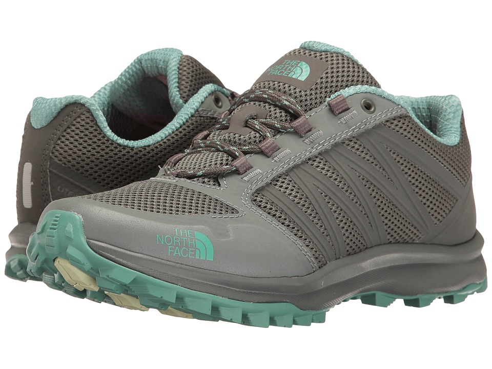 The North Face - Litewave Fastpack (Graphite Grey/Agate Green) Women's Shoes