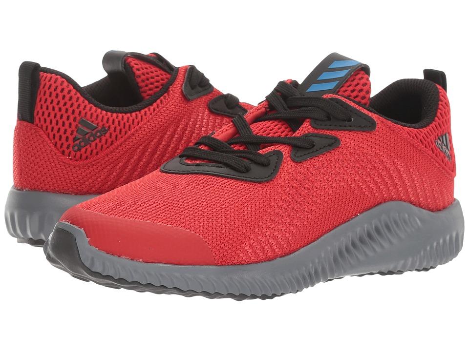 adidas Kids Alphabounce (Little Kid) (Scarlet/Blue/Core Black) Boys Shoes