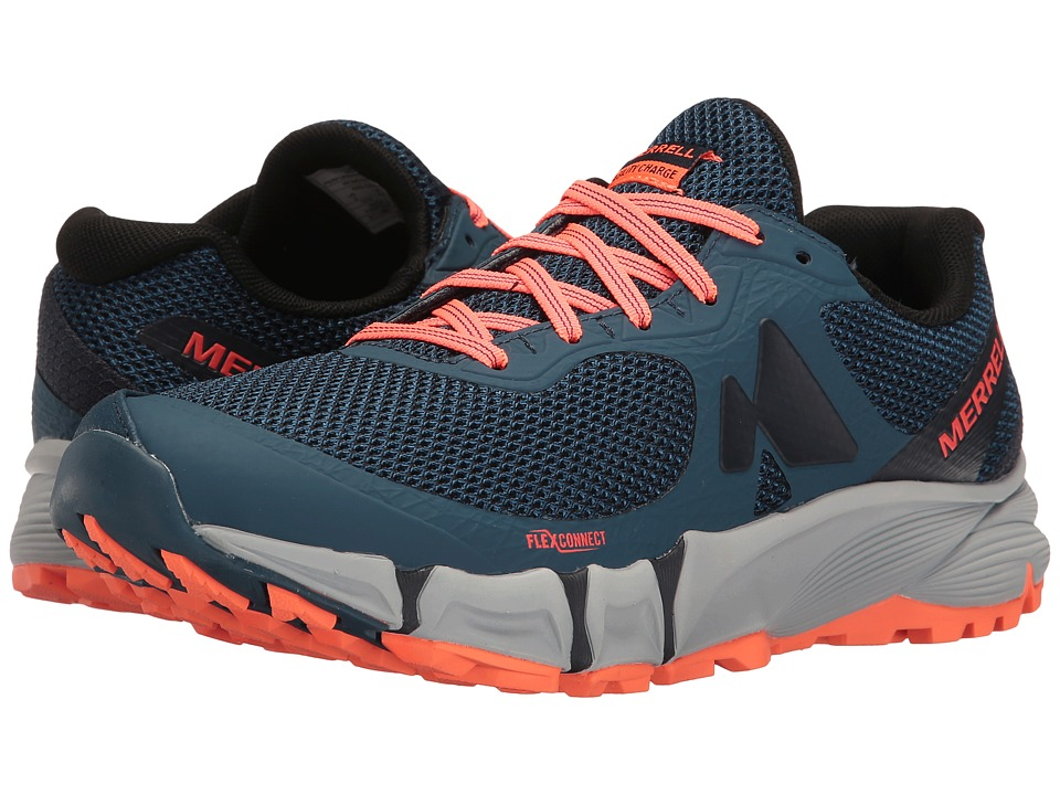 Merrell - Agility Charge Flex (Navy) Women's Shoes
