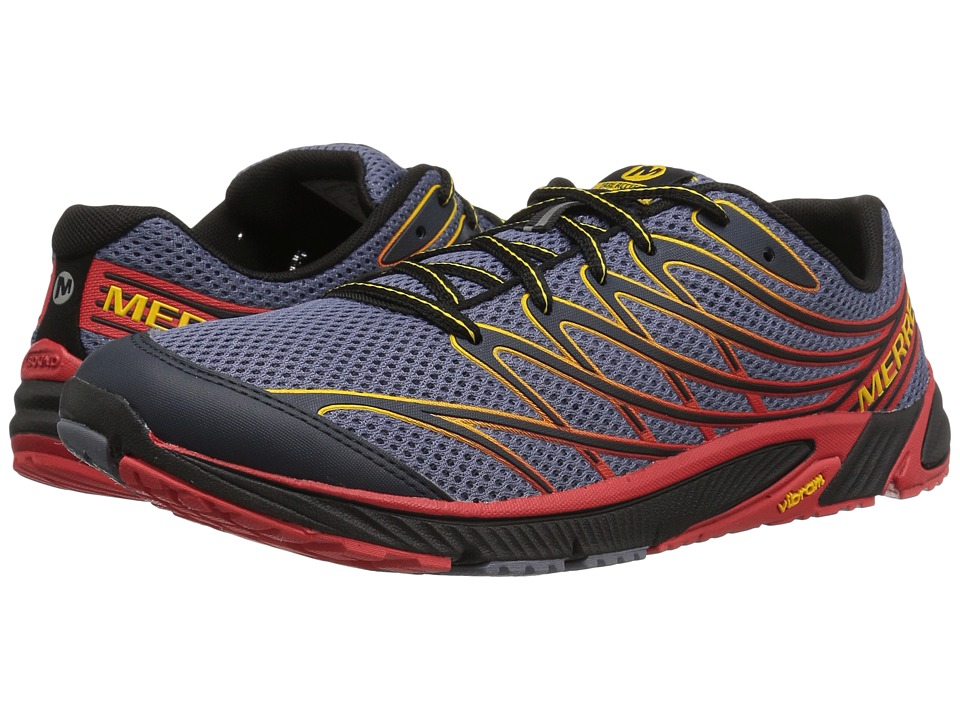 Merrell - Bare Access 4 (Tahoe Blue/Sunny Yellow) Men's Shoes