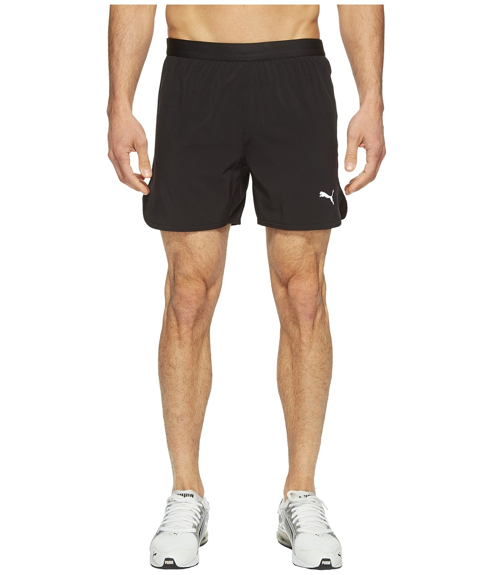 PUMA - Speed 5 Shorts (PUMA Black) Men's Shorts