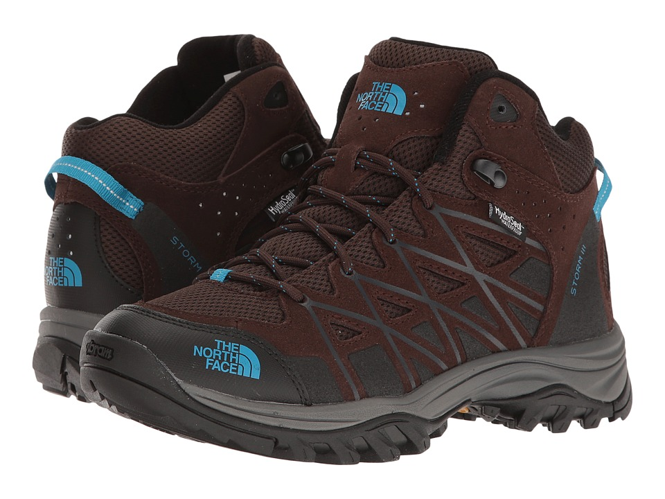 The North Face - Storm III Mid WP (Demitasse Brown/Hyper Blue (Prior Season)) Women's Hiking Boots