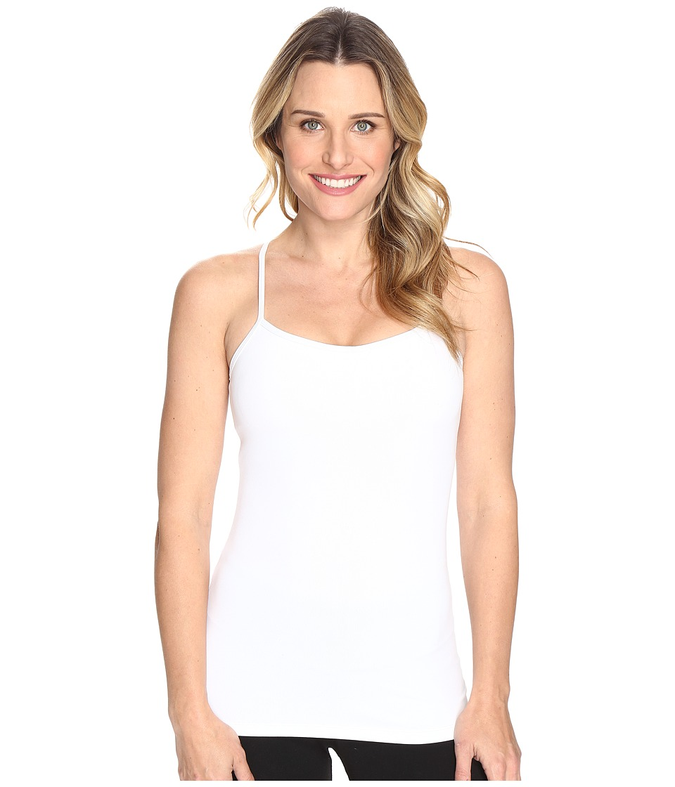 Lucy - Yoga Siren Racerback (Lucy White 1) Women's Sleeveless