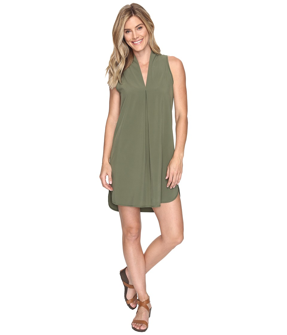 Lucy - Destination Anywhere Dress (Rich Olive) Women's Dress