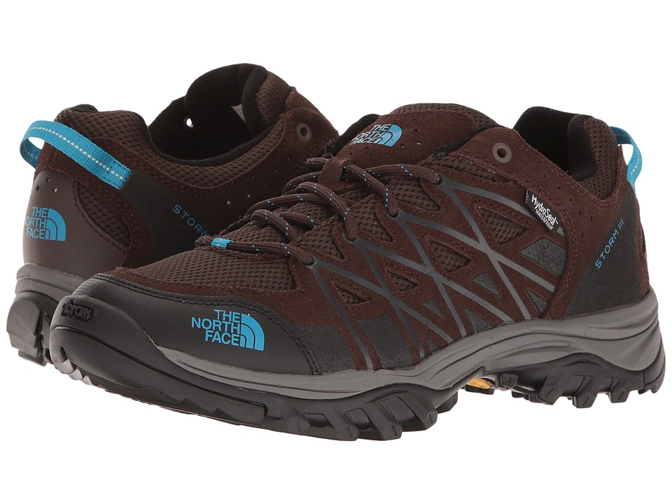 The North Face Storm III WP (Demitasse Brown/Hyper Blue) Women