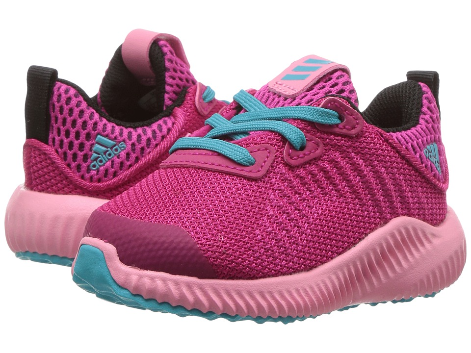 adidas Kids Alpha Bounce (Toddler) (Easy Pink/Bold Pink/Energy Blue) Girls Shoes
