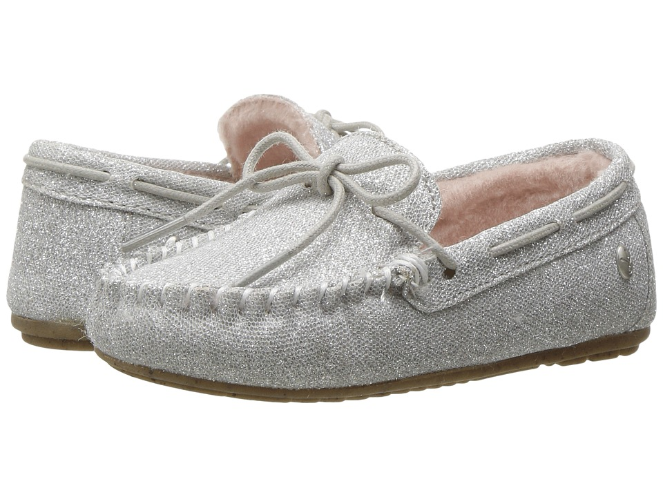 EMU Australia Kids Amity Sparkle (Toddler/Little Kid/Big Kid) (Silver) Girls Shoes