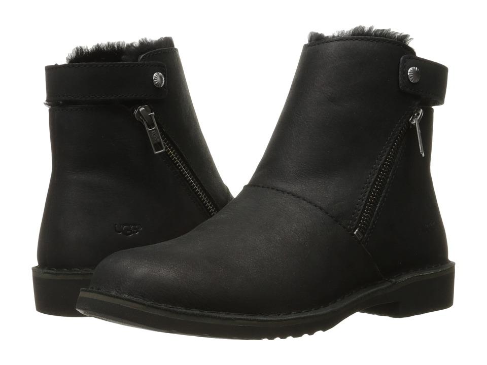 UGG - Kayel Leather (Black) Women's Boots