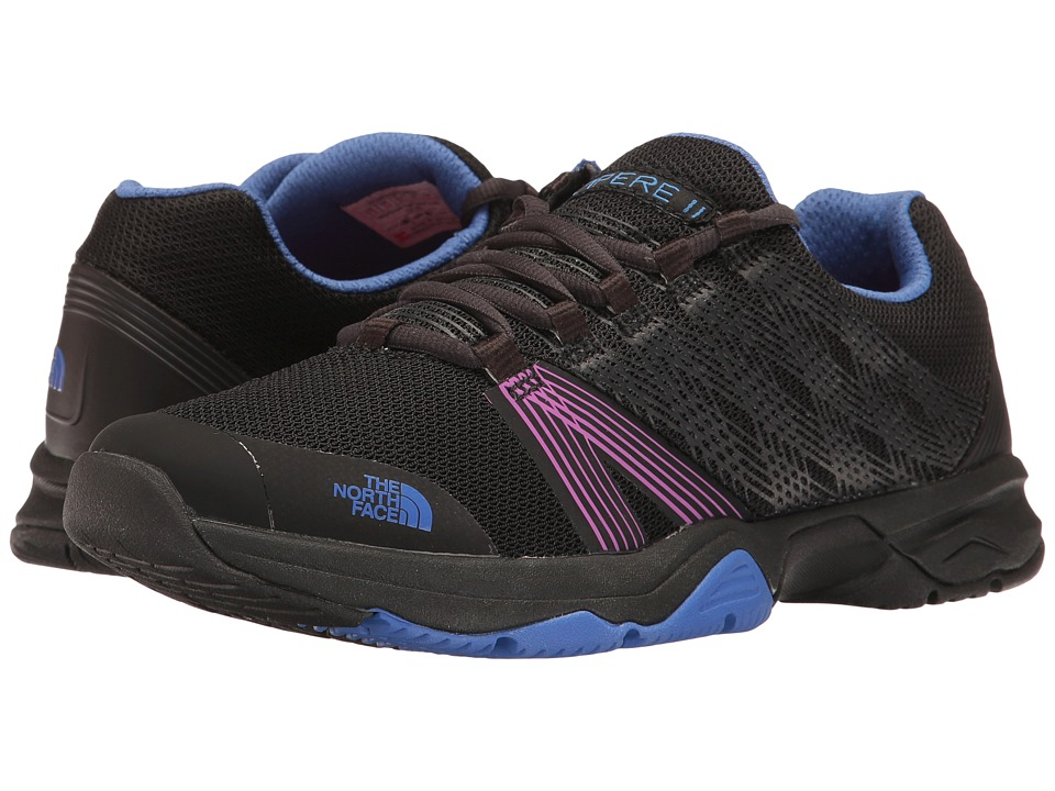 The North Face - Litewave Ampere II (TNF Black/Amparo Blue) Women's Shoes