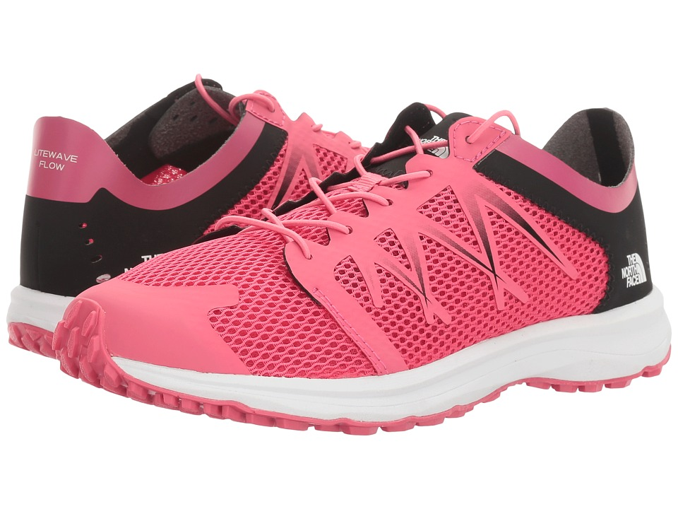 The North Face - Litewave Flow Lace (Honeysuckle Pink/TNF White) Women's Shoes