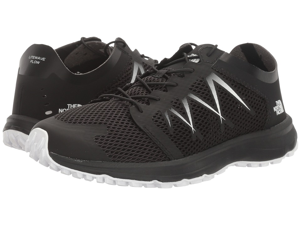 The North Face - Litewave Flow Lace (TNF Black/TNF White) Women's Shoes