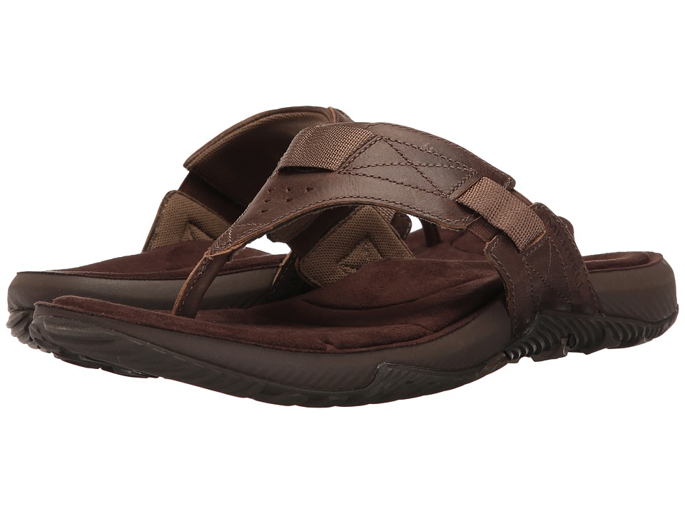 Merrell - Terrant Thong (Dark Earth) Men's Sandals