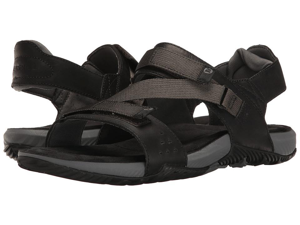 Merrell - Terrant Strap (Black) Men's Sandals
