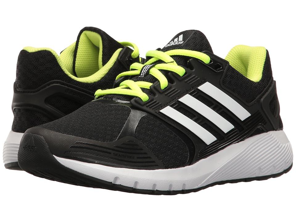 adidas Kids - Duramo 8 (Little Kid/Big Kid) (Black/White/Yellow) Boys Shoes