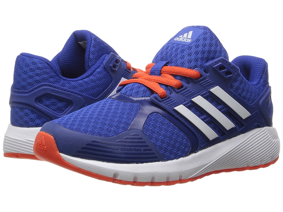 adidas Kids - Duramo 8 (Little Kid/Big Kid) (Blue/White/Energy) Boys Shoes