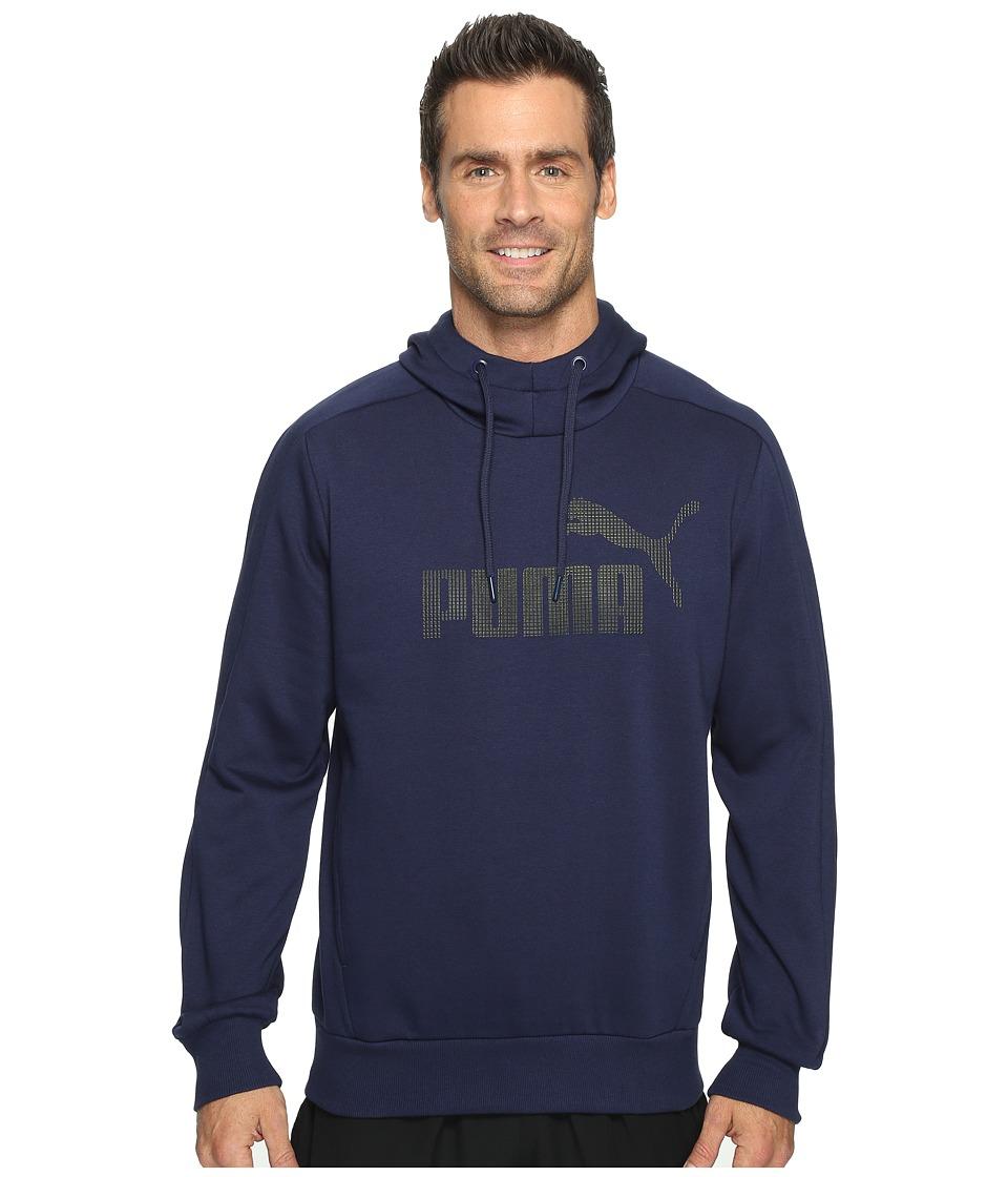 PUMA - P48 Core Hoodie (Peacoat) Men's Sweatshirt