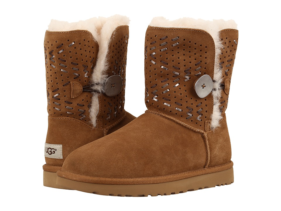 UGG - Bailey Button II Tehuano (Chestnut) Women's Boots