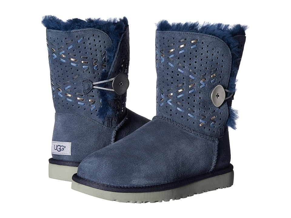 UGG - Bailey Button II Tehuano (Navy) Women's Boots