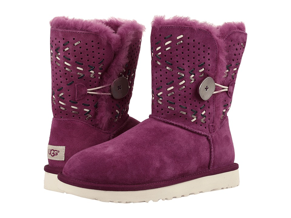 UGG - Bailey Button II Tehuano (Purple Passion) Women's Boots