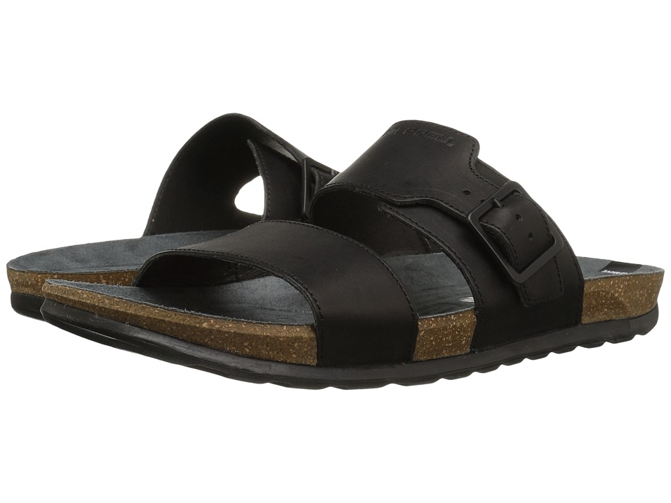Merrell - Downtown Slide Buckle (Black) Men's Sandals
