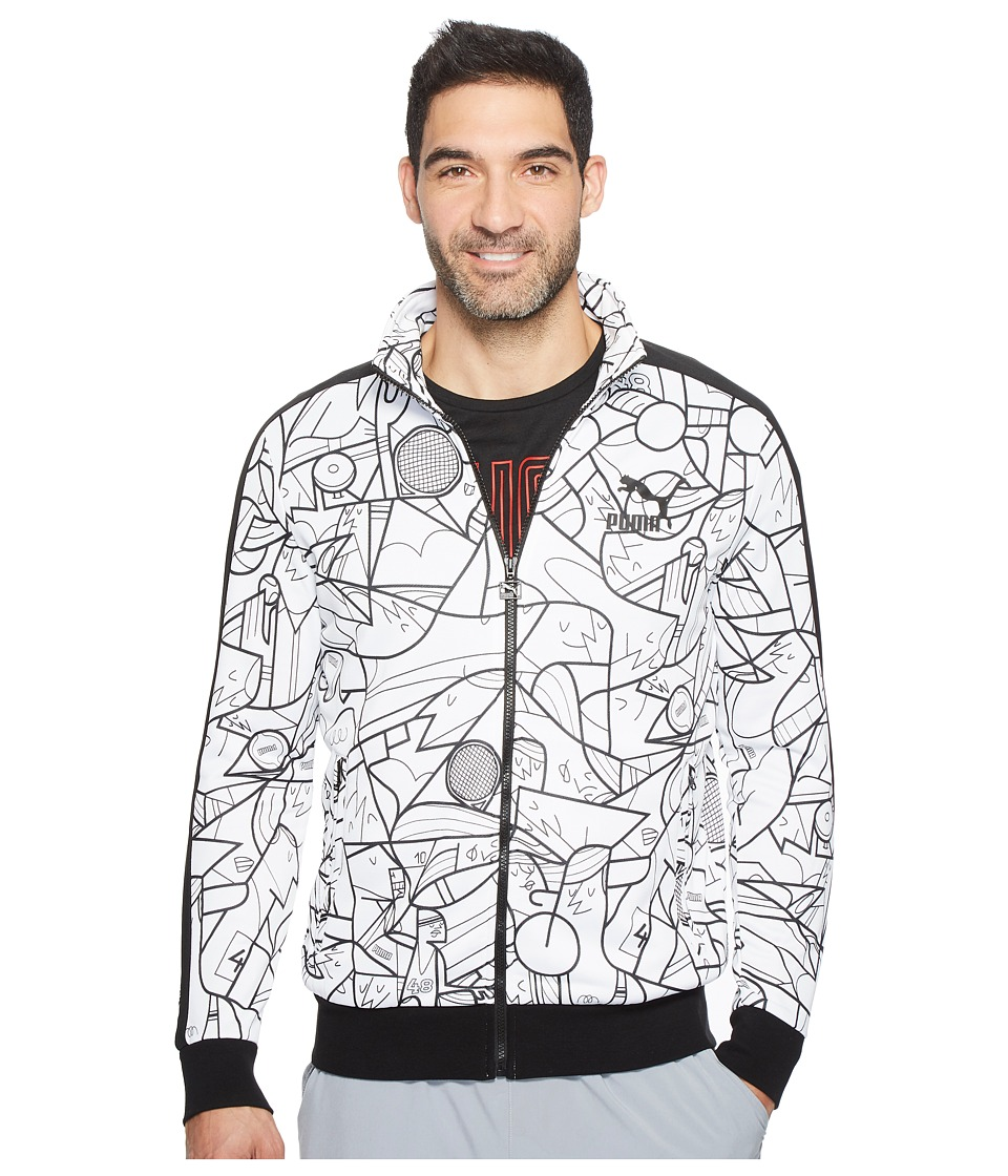 PUMA - Puma X Ale Giorgini T7 Jacket (PUMA White) Men's Coat