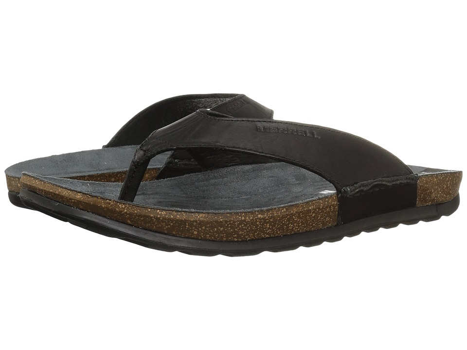 Merrell - Downtown Flip (Black) Men's Sandals