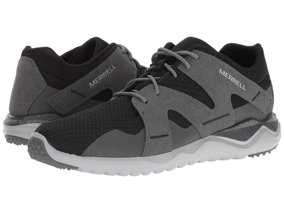 Merrell - Isix8 Mesh (Black) Men's Shoes