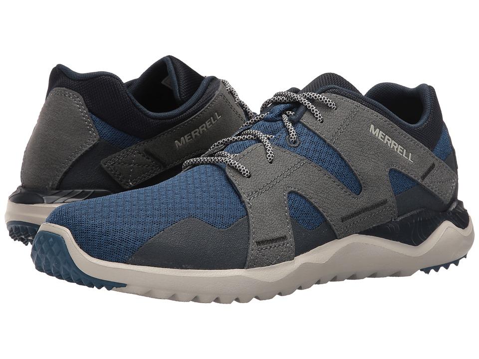 Merrell - Isix8 Mesh (Poseidon Blue) Men's Shoes