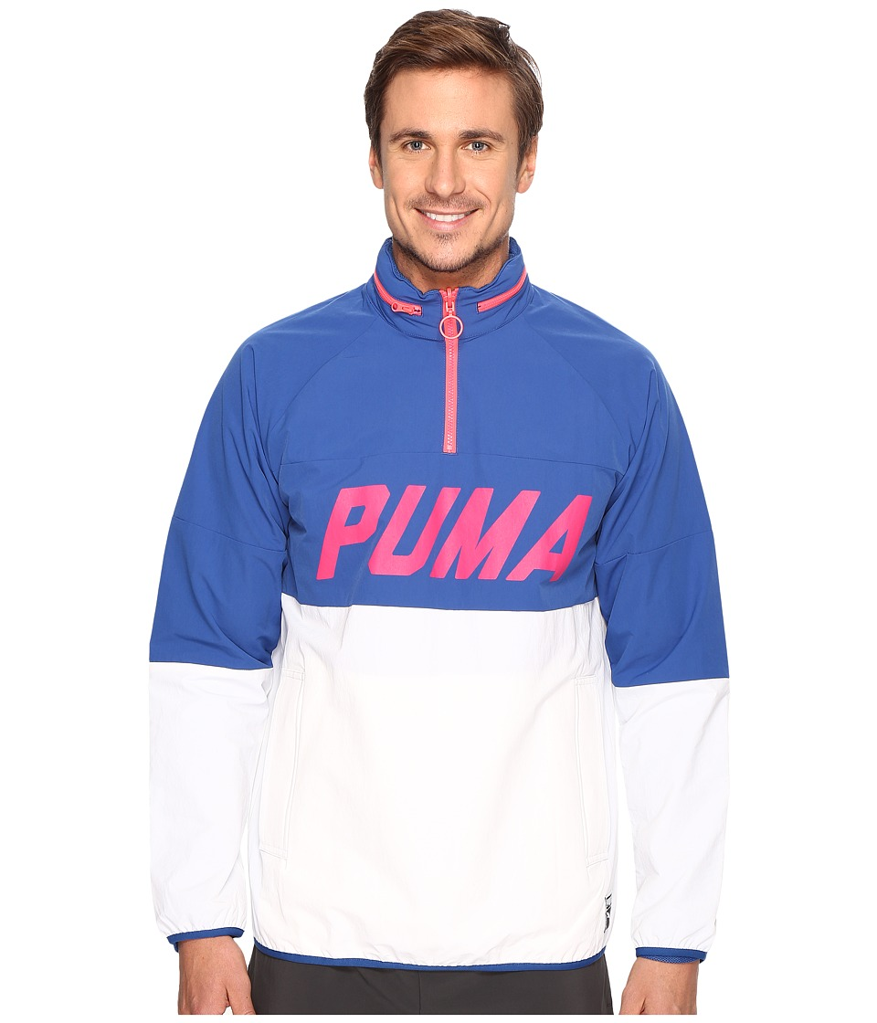 PUMA - Color Block Jacket (True Blue) Men's Coat
