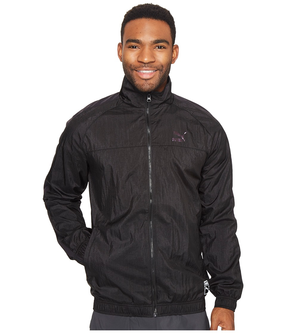 PUMA - Color Block Track Jacket (PUMA Black) Men's Coat