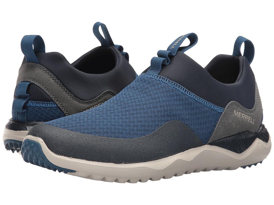 Merrell - Isix8 Mesh Moc (Poseidon Blue) Men's Shoes