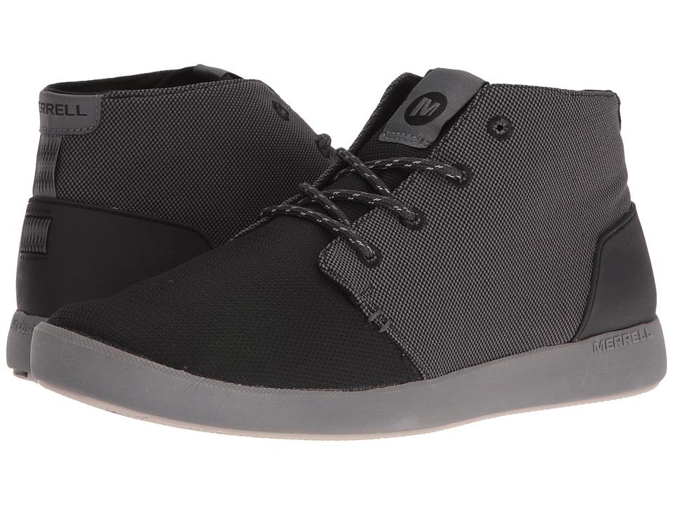 Merrell - Freewheel Mesh Chukka (Black) Men's Shoes
