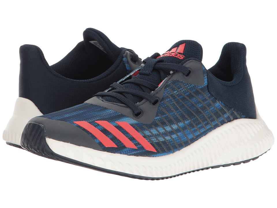 adidas Kids - FortaRun Print (Little Kid/Big Kid) (Navy/Red/White) Boys Shoes
