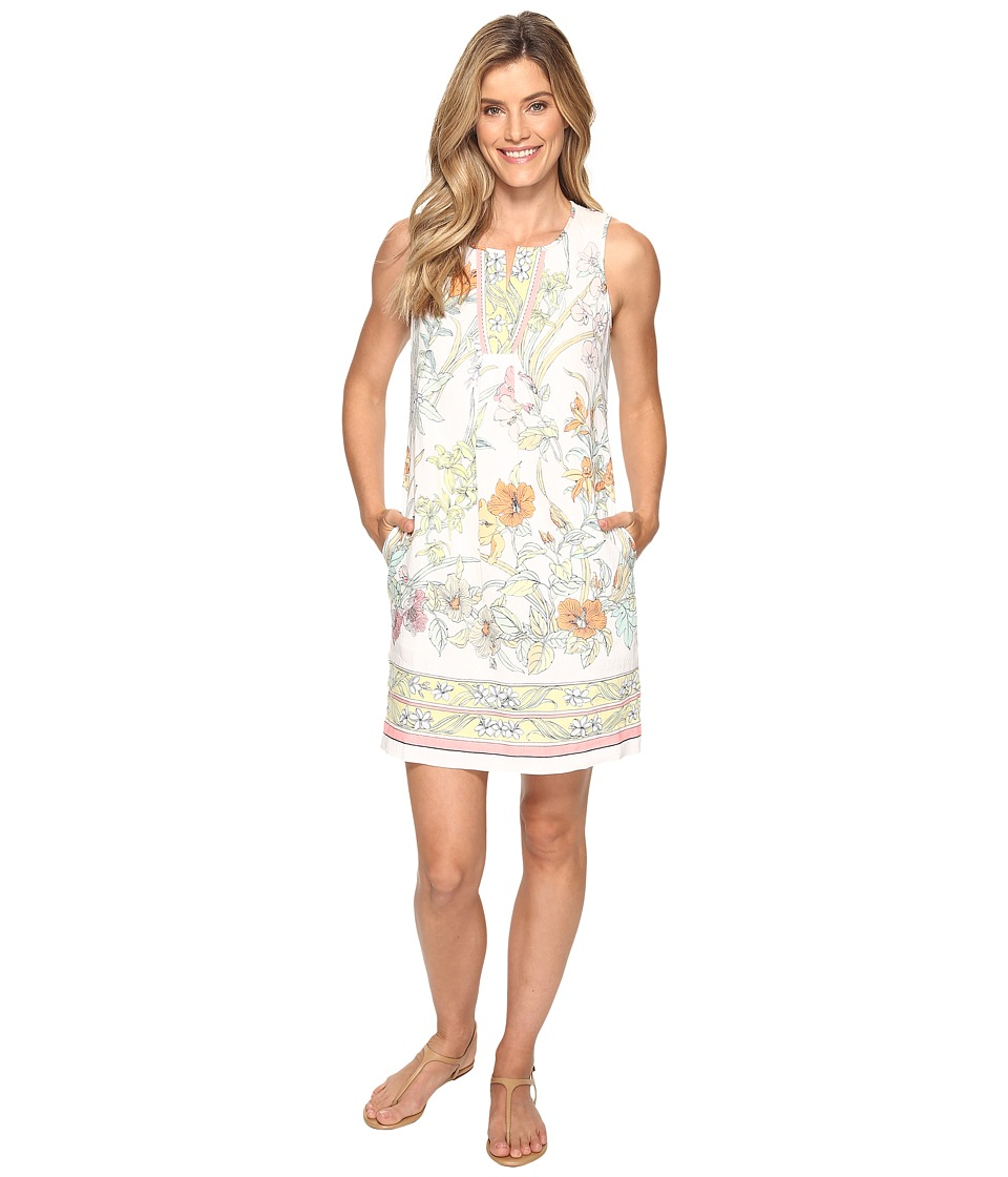 Tommy Bahama Paint By Rumba Short Dress (Bright White) Women