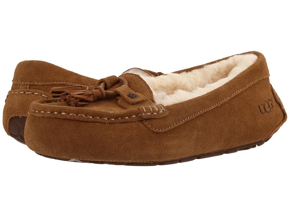 UGG - Litney (Chestnut) Women's Slippers