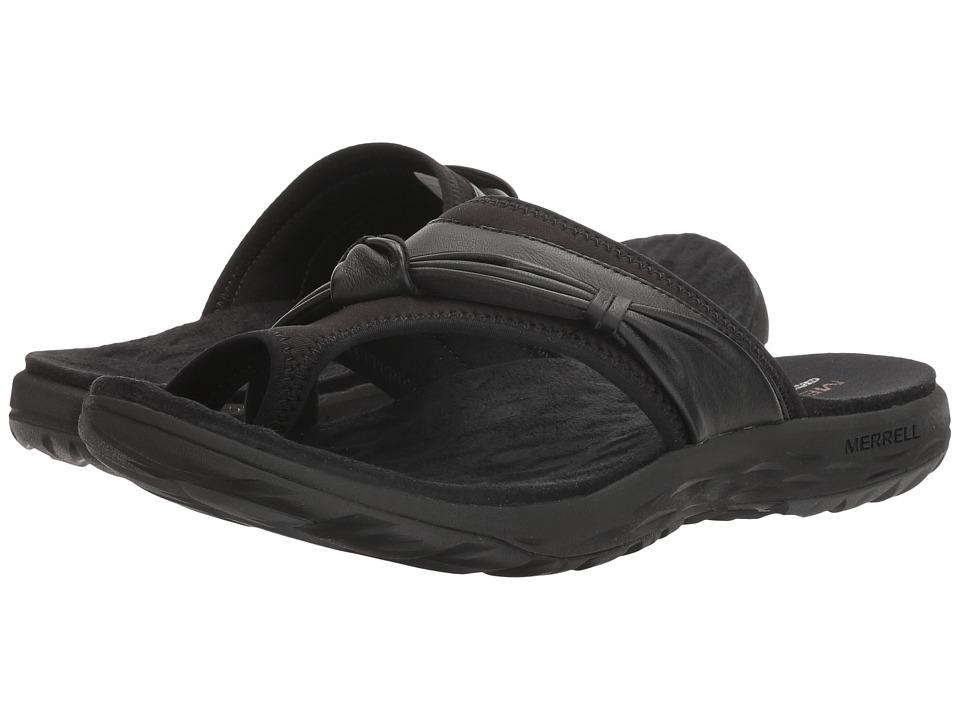 Merrell - Vesper Thong (Black) Women's Sandals