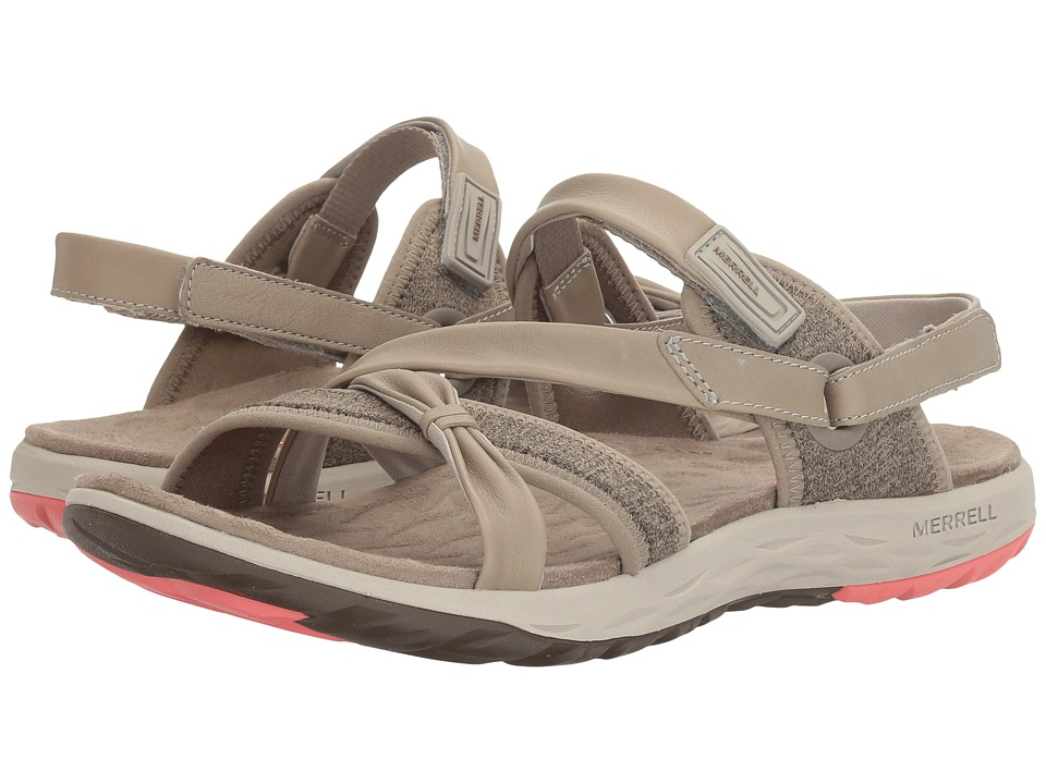 Merrell - Vesper Lattice (Aluminium) Women's Sandals