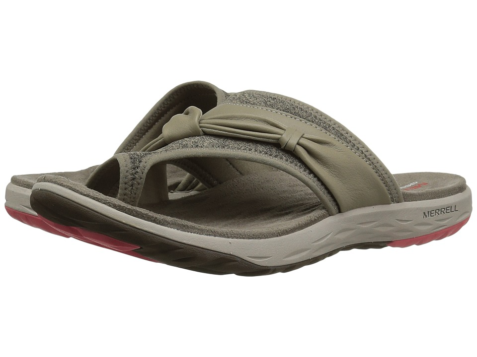 Merrell - Vesper Thong (Aluminium) Women's Sandals