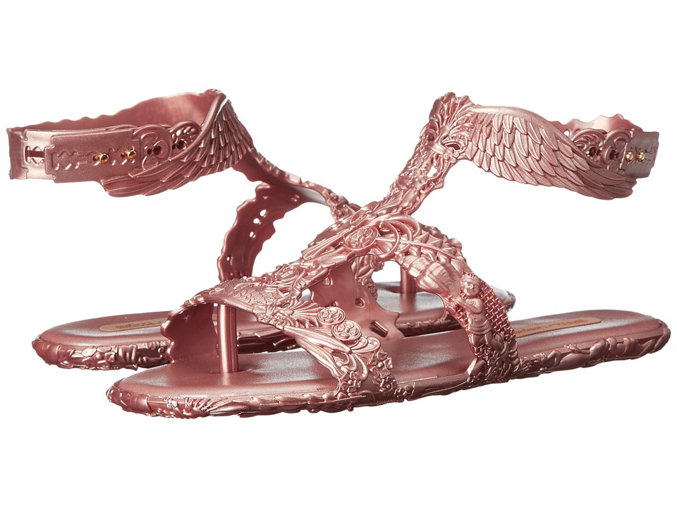 Melissa Shoes - Campana Barroca Sandal (Rose Gold) Women's Dress Sandals