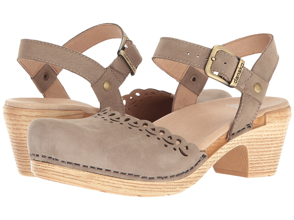 Dansko Marta (Taupe Milled Nubuck) High Heels