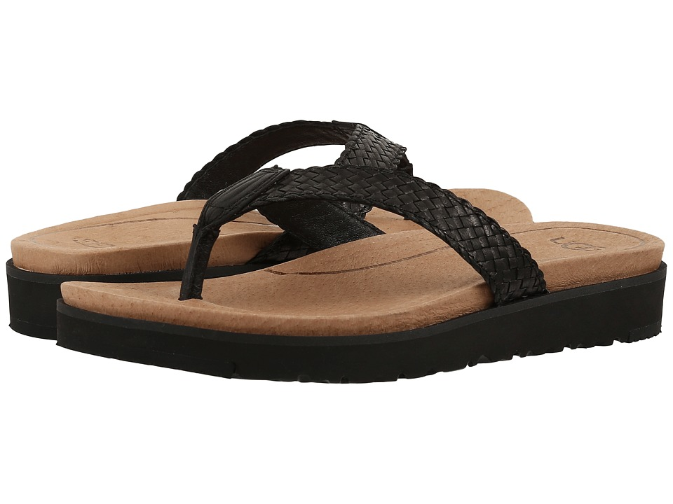 UGG - Lorrie (Black) Women's Sandals