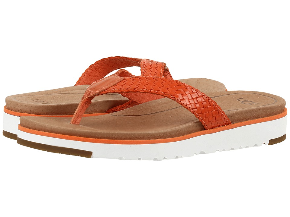 UGG - Lorrie (Fire Opal) Women's Sandals